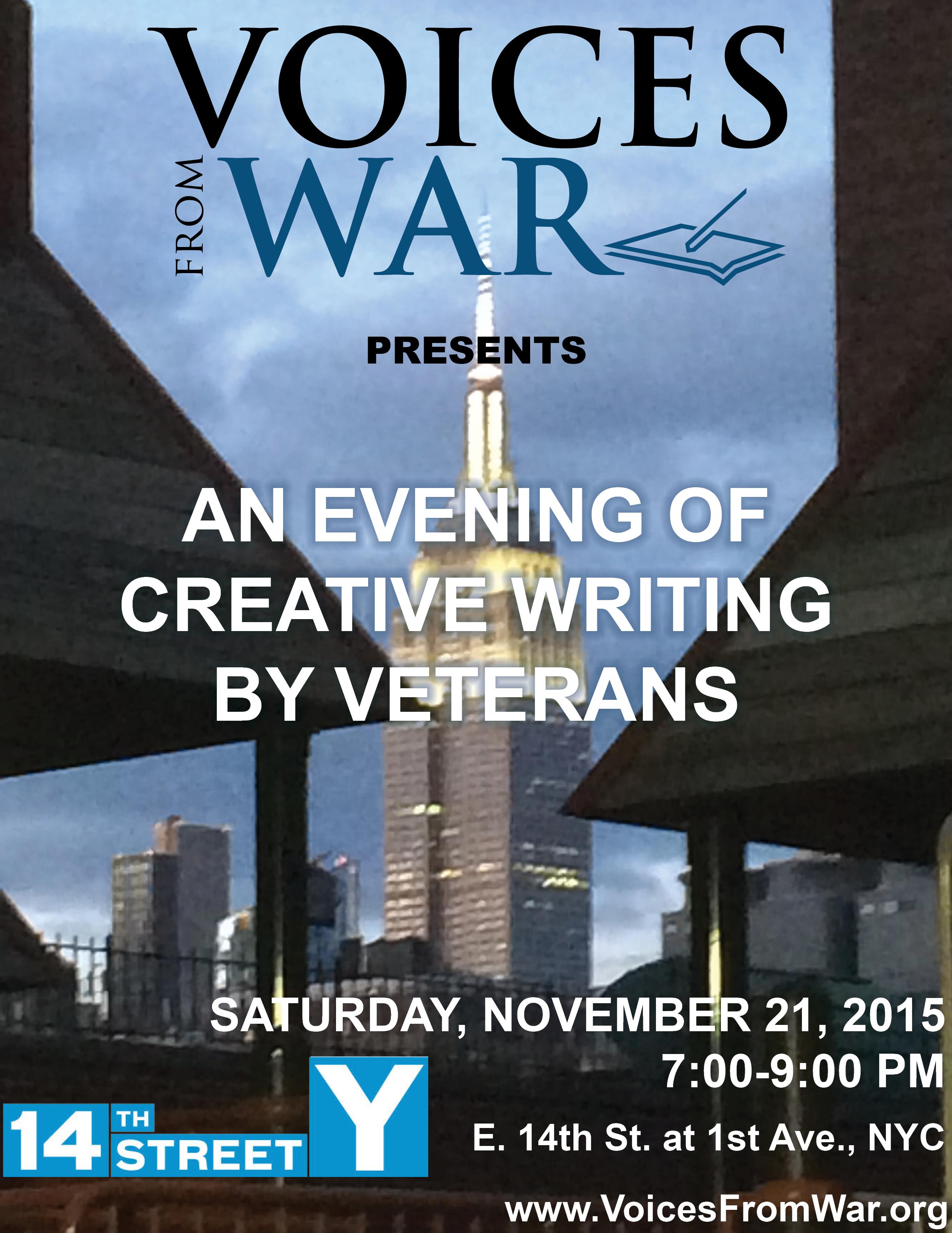 Creative writing war stories