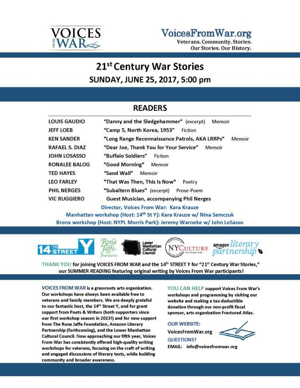 Uncategorized Voices From War